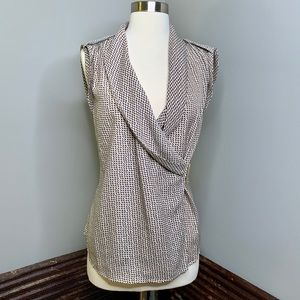 Ann Taylor Silky Sleeveless Blouse